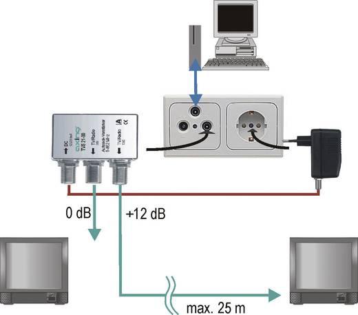 Axing TVS 21-00 Verteilverstärker, BK-tauglich