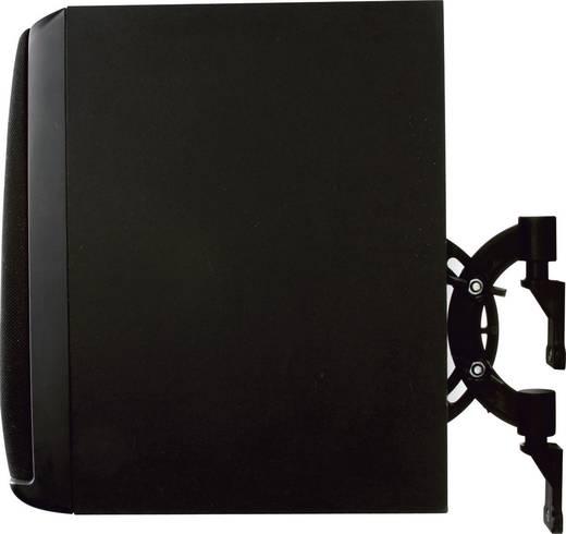 Lautsprecher-Wandhalterung Neigbar, Schwenkbar Wandabstand (max.): 5.5 cm B-Tech BT1 Schwarz 1 Paar