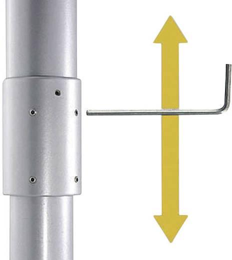 Beamer-Deckenhalterung Neigbar, Drehbar Boden-/Deckenabstand (max.): 61 cm Kindermann Support plafond pour vidéoproject