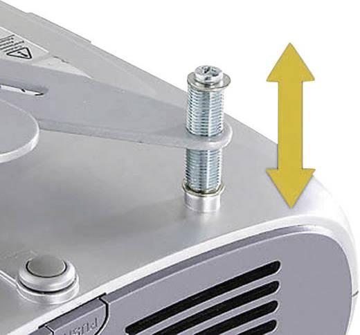 Beamer-Deckenhalterung Neigbar, Drehbar Boden-/Deckenabstand (max.): 100 cm Kindermann Beamer Quadro Deckenträger Advan