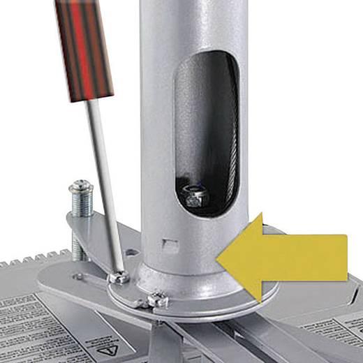 Beamer-Deckenhalterung Neigbar, Drehbar Boden-/Deckenabstand (max.): 61 cm Kindermann Quadro Advanced 60 Weiß