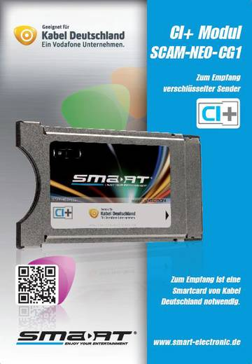 CI+ Modul Smart S-CAM Kabel