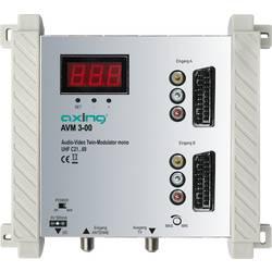 AV konvertor F zásuvka, cinch zásuvka, zásuvka SCART ⇔ F zásuvka Axing AVM 3-00 AVM00300