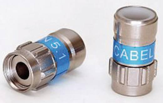 Cabelcon Self-Install™ F-Stecker SET Cabelcon Abisolierer, 10 F-Stecker für Koaxleitung mit Ø des Dielektrikums von 5.1