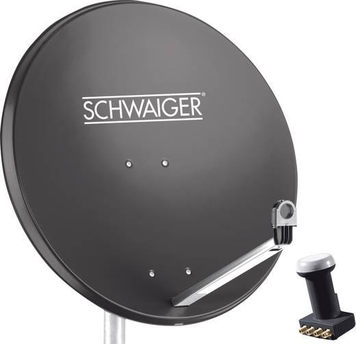 Schwaiger Spi991 1set Sat Anlage Ohne Receiver Teilnehmer Anzahl 4