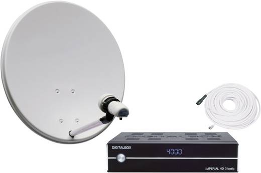 imperial sat anlage f r 1 teilnehmer mit antenne basicline. Black Bedroom Furniture Sets. Home Design Ideas