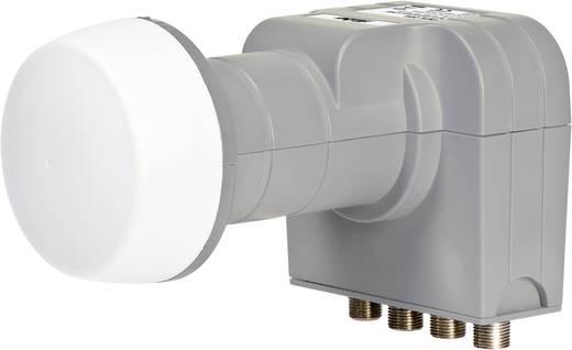 fuba DEK 416 Quad-LNB Teilnehmer-Anzahl: 4 Feedaufnahme: 40 mm mit Switch