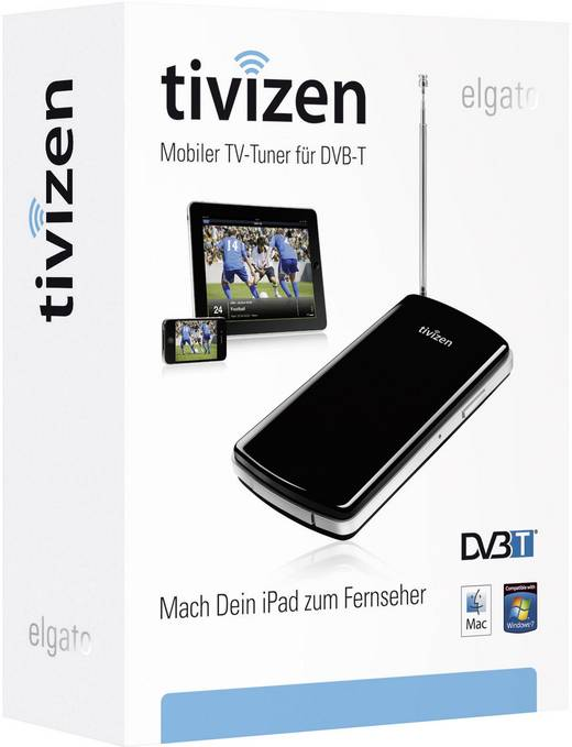 DVB-T TV-WLAN-Empfänger Elgato Tivizen Aufnahmefunktion ...