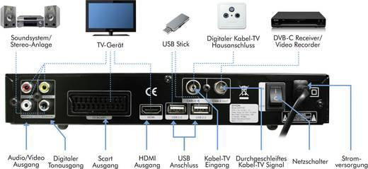 HD-Kabel-Receiver Dyon Raptor Aufnahmefunktion Anzahl Tuner: 1