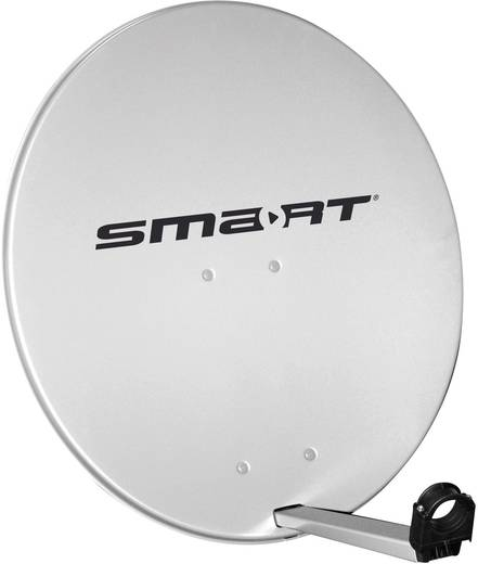 SAT Antenne 80 cm Smart SDS 80 Reflektormaterial: Aluminium Hellgrau