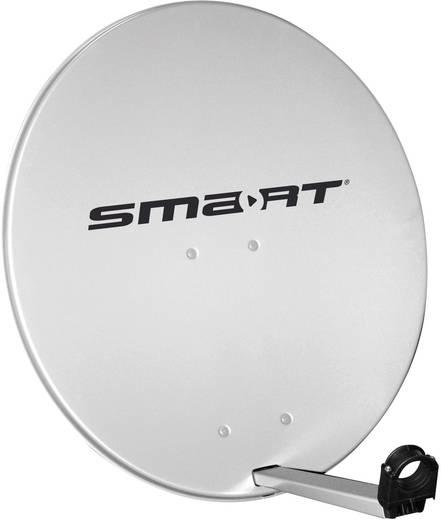 SAT Antenne 80 cm Smart SDS80AG Reflektormaterial: Aluminium Hellgrau