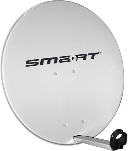 Smart SDS 80 SAT Antenne 80 cm Reflektormaterial: Aluminium Hellgrau