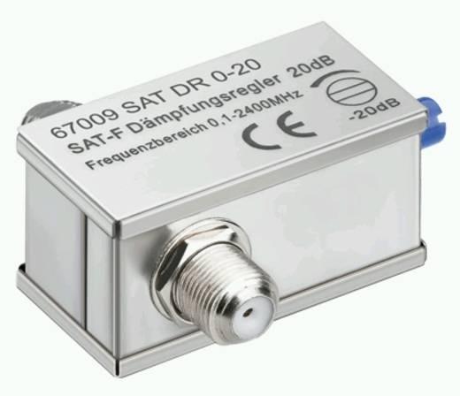 SAT-Dämpfungsregler Goobay SAT DG 0-20 0,1 - 2400 MHz