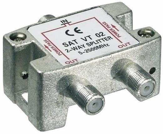 SAT-Verteiler Goobay SAT VT 02 2-fach 5 - 2450 MHz