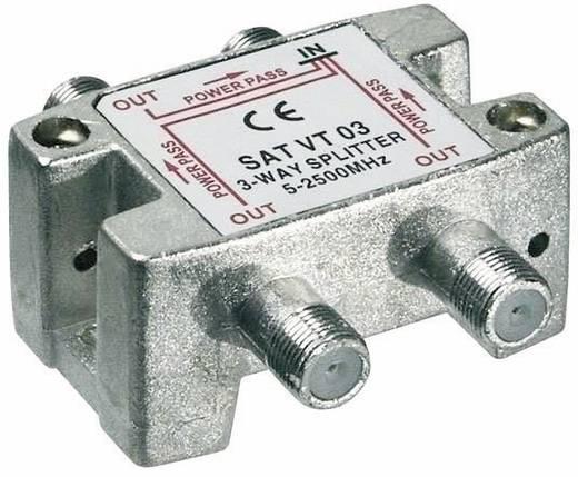SAT-Verteiler Goobay SAT VT 03 3-fach 5 -2450 MHz