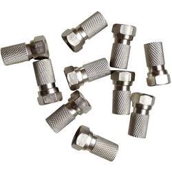 Sada F konektorov pre Ø kábla 7 mm, 10 ks