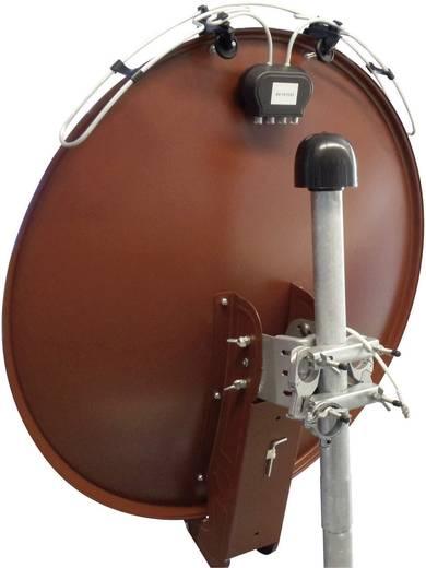 Aktive DVB-T/T2-Dachantenne Schwaiger ANTSPI 211 Außenbereich Verstärkung=20 dB Schwarz/Silber