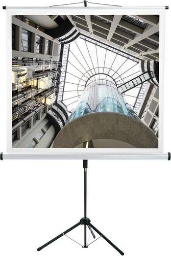Rolloleinwand Medium CombiFlex Budget 16412 200 x 200 cm Bildformat: 1:1, 4:3, 16:9