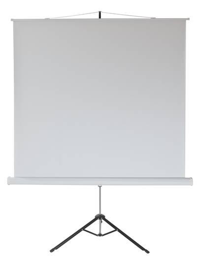 Rolloleinwand Medium CombiFlex Budget 16410 150 x 150 cm Bildformat: 1:1, 4:3, 16:9