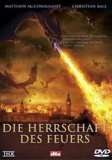 DVD Die Herrschaft des Feuers FSK: 16