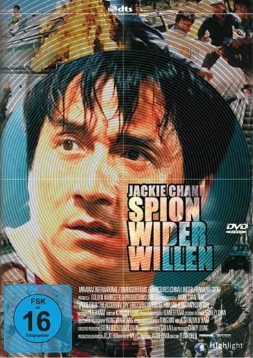 DVD Jackie Chan Spion wider Willen FSK: 16