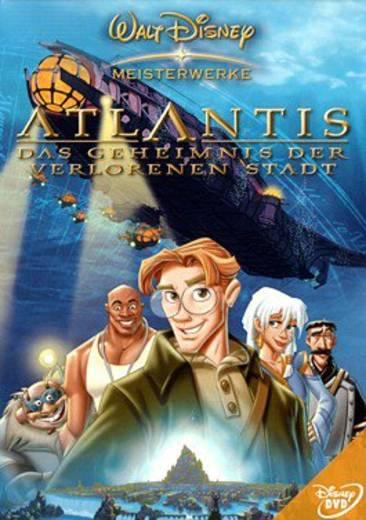 DVD Atlantis Das Geheimnis der verlorenen Stadt FSK: 6
