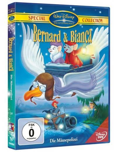 DVD Bernard & Bianca Die Mäusepolizei FSK: 0