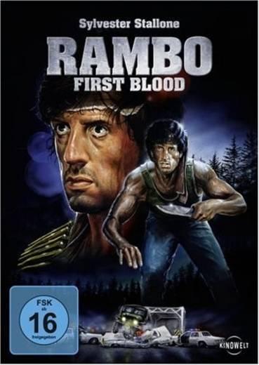 DVD Rambo First Blood FSK: 16