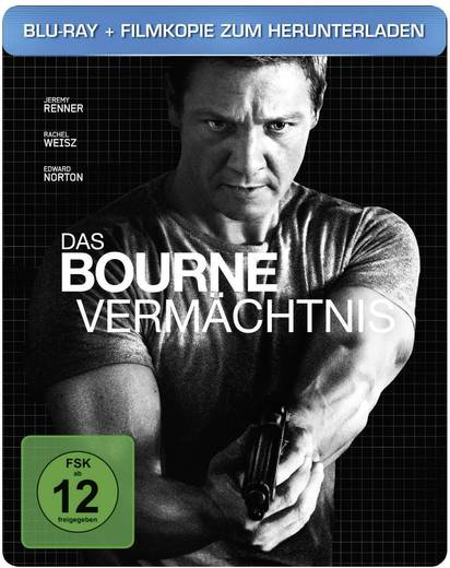 Blu-ray Steelbook Das Bourne Vermächtnis Limited Edition
