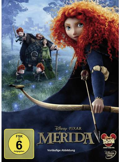 DVD Merida - Legende der Higlands