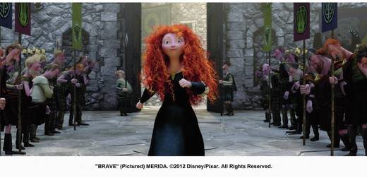 Blu-ray Merida - Legende der Highlands