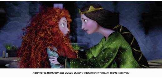 3D Blu-ray Merida - Legende der Highlands