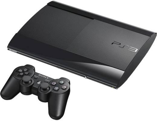 Sony Playstation® 3 Konsole Super Slim 500 GB Schwarz