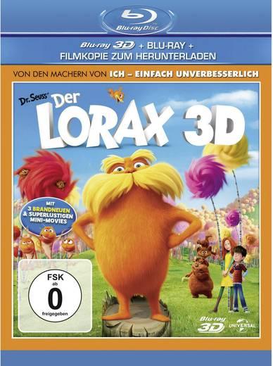 3D Blu-ray Der Lorax