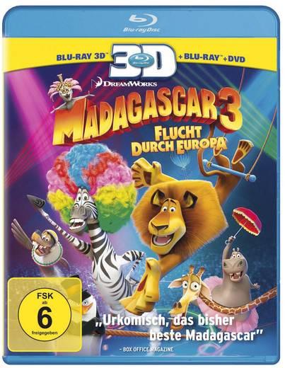 3D Blu-ray Madagascar 3 - Flucht durch Europa