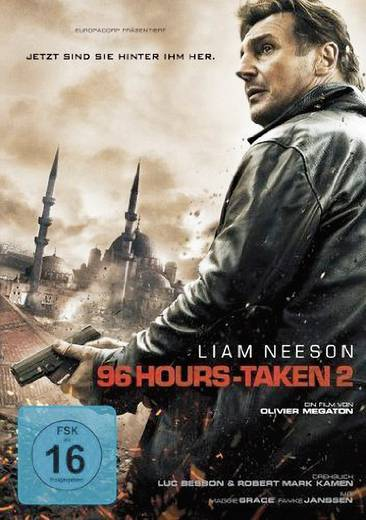 PC DVD-ROM 96 Hours Taken 2 (Extended Cut) FSK: 16