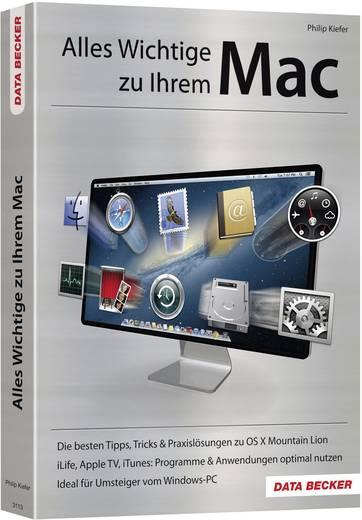 Alles Wichtige zu Ihrem Mac Data Becker 978-3-815-83113-7