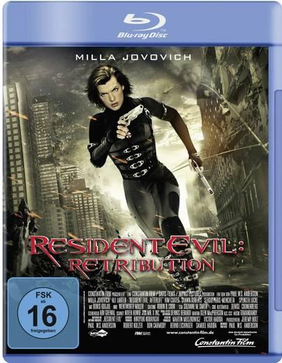 blu-ray Resident Evil: Retribution FSK: 16