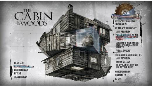 DVD The Cabin in the Woods FSK: 16