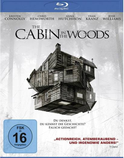 blu-ray The Cabin in the Woods FSK: 16