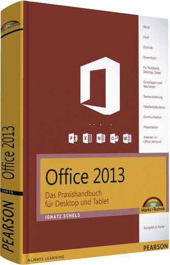 buch office 2013 das praxishandbuch f r desktop und tablet kaufen. Black Bedroom Furniture Sets. Home Design Ideas