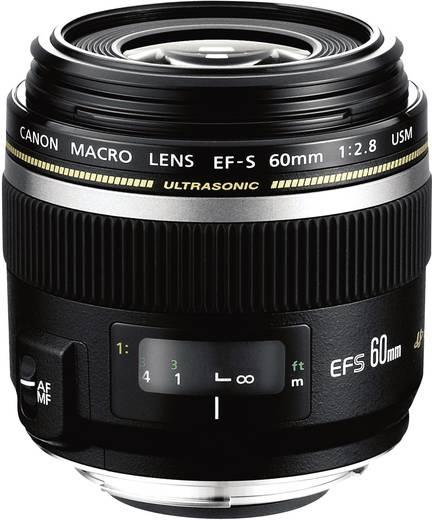 Makro-Objektiv Canon EF-S 60mm 1:2.8 Macro USM f/2.8 60 mm