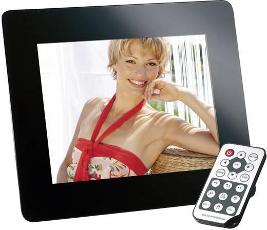 Digitaler Bilderrahmen 20.3 cm 8 Zoll Intenso Mediadirector 800 x 600 Pixel Schwarz