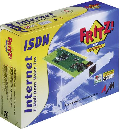 ISDN Modemkarte 128 kBit/s AVM FRITZ!Card PCI PCI