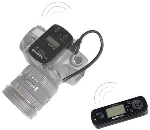Timerfernauslöser Hähnel Fototechnik Giga T Pro Wireless Timer remote