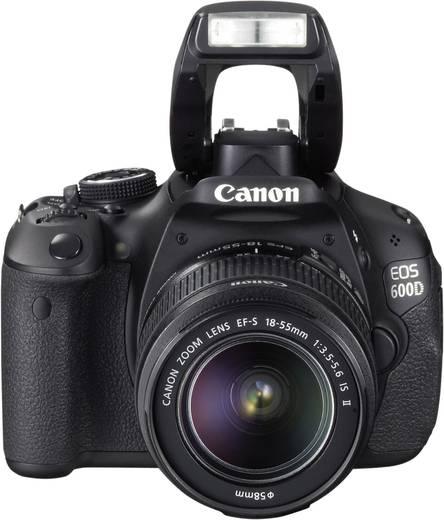digitale spiegelreflexkamera canon eos 600d kit inkl ef s 18 55 mm is ii 18 0 mio pixel. Black Bedroom Furniture Sets. Home Design Ideas