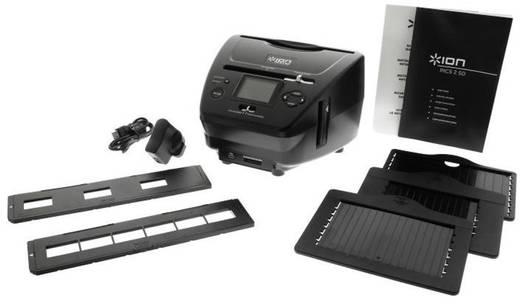 Diascanner, Negativscanner, Fotoscanner ION Audio Pics2SD 1800 dpi Display, Speicherkarten-Steckplatz