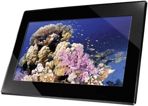 Digitaler Bilderrahmen 39.6 cm 15.6 Zoll Hama Premium 1366 x 768 Pixel 2 GB Schwarz