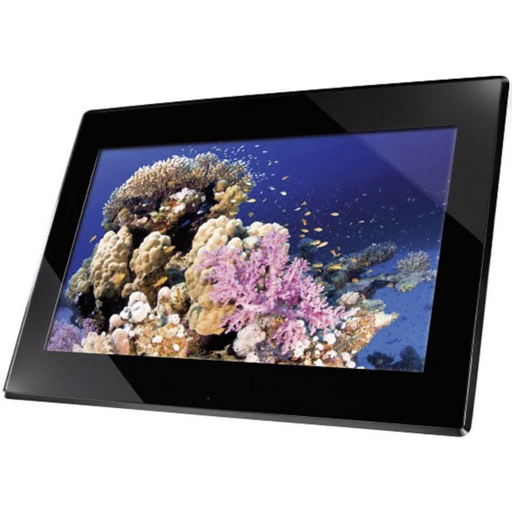 digitaler bilderrahmen 39 6 cm 15 6 zoll hama premium 1366 x 768 pixel 2 gb schwarz im conrad. Black Bedroom Furniture Sets. Home Design Ideas