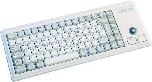 """PS2-Tastatur CHERRY Compact-Keyboard G84-4400 Grau Integrierter Trackball, Maustasten, 19"""" Anwendungen"""